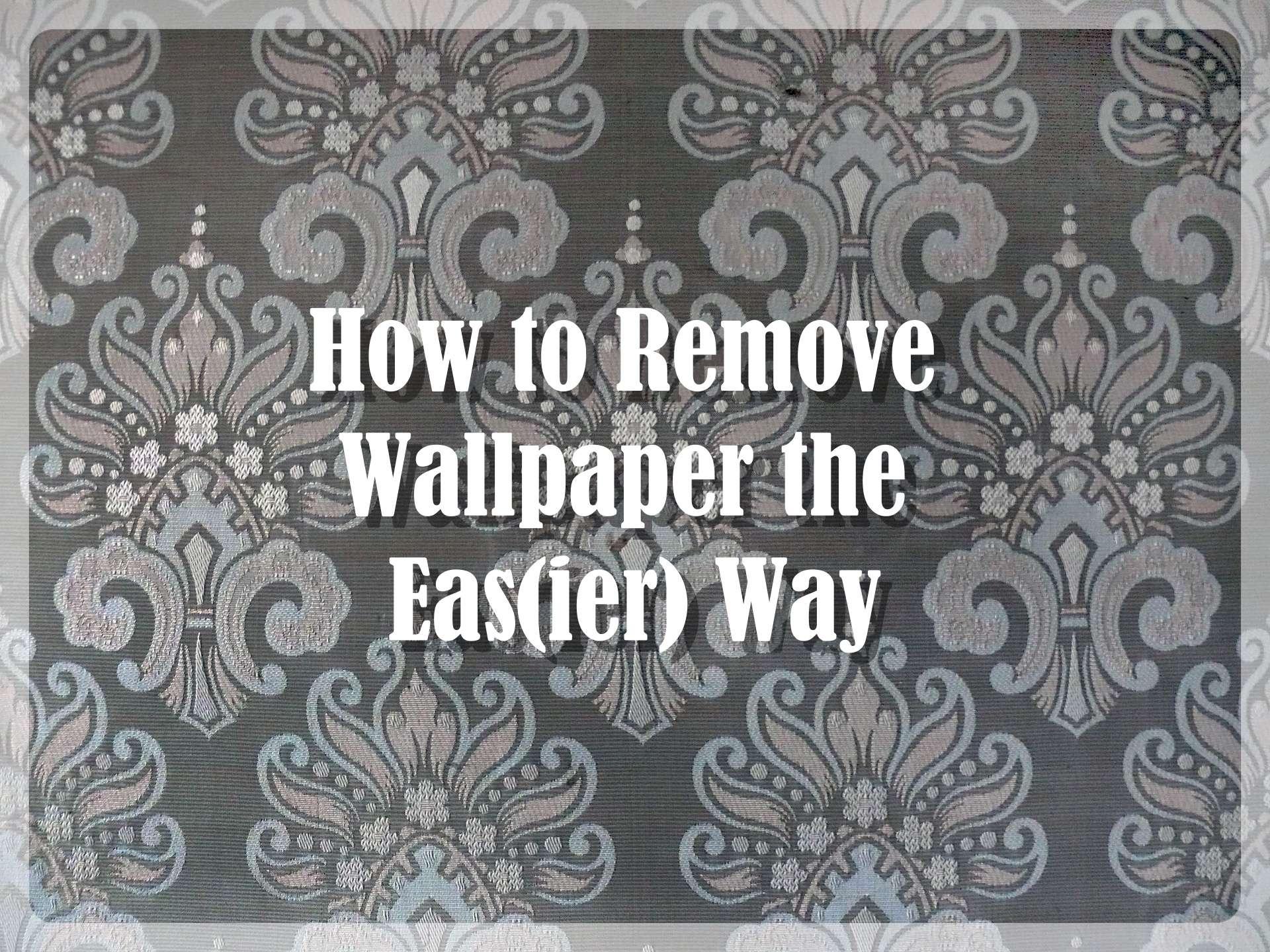 Removing Wallpaper Pinterest