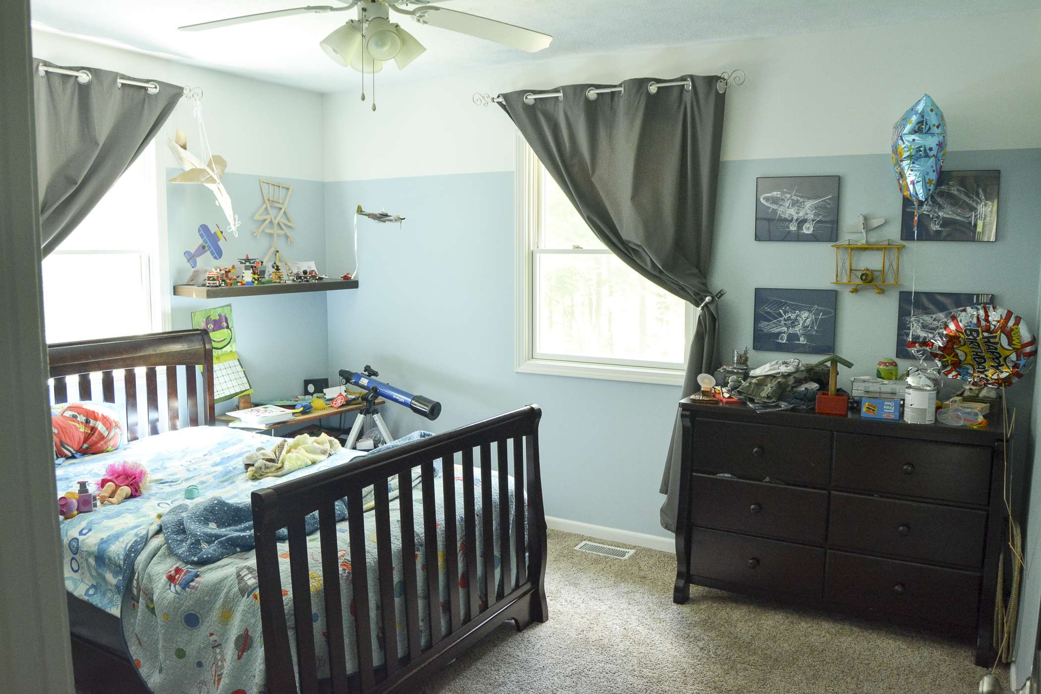 Before Photo Big Boy Room www.graceinmyspace.com