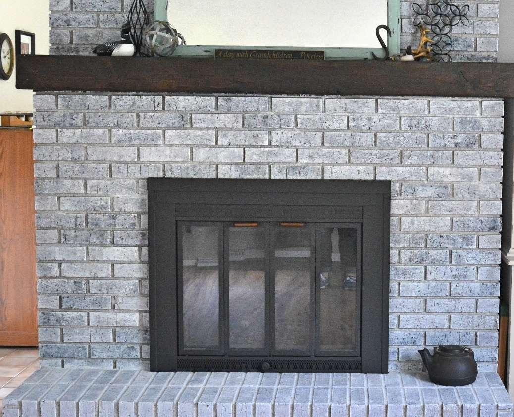 Whitewashing Brick: In-Law Refresh Take 3