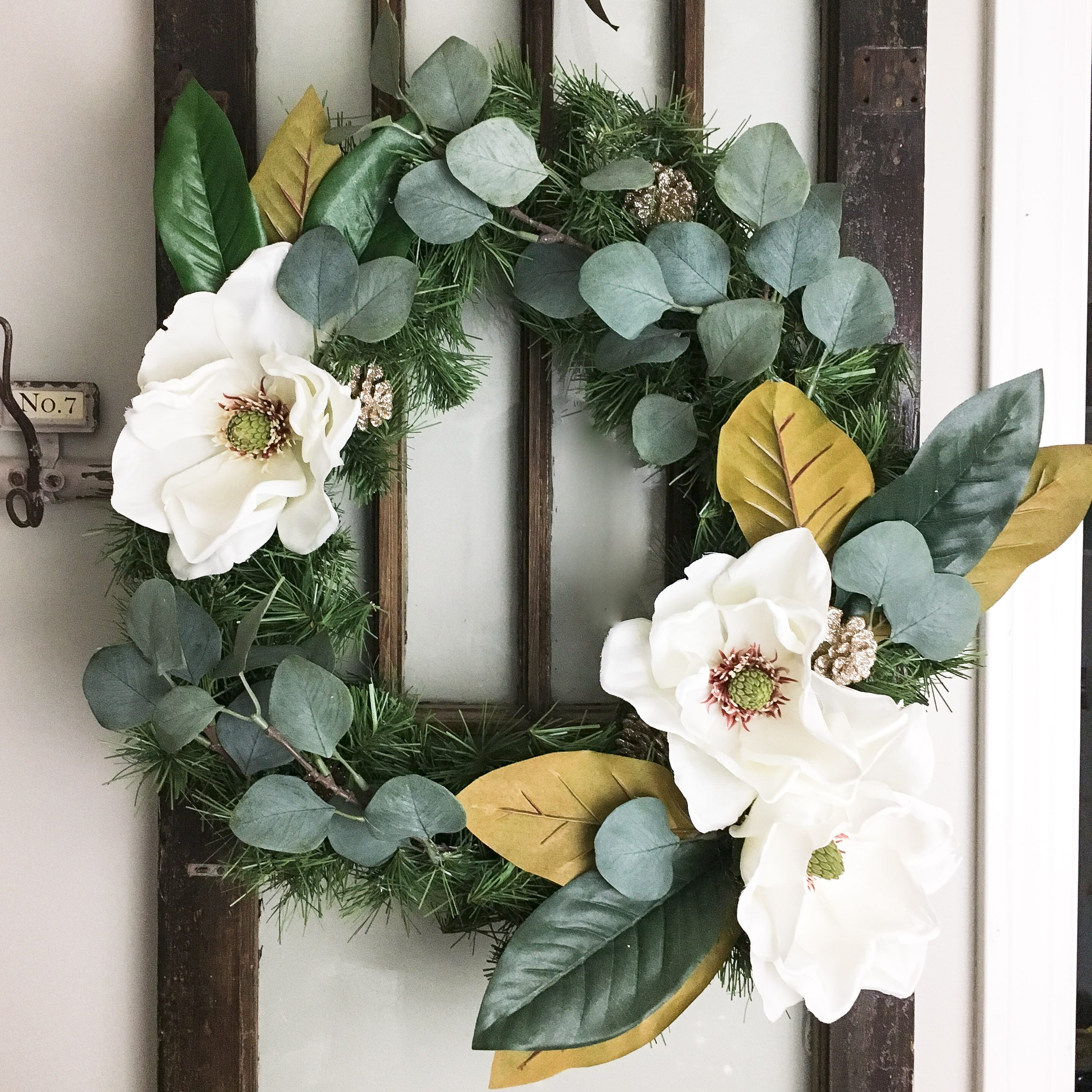 DIY Christmas Wreath…Yes, Another One