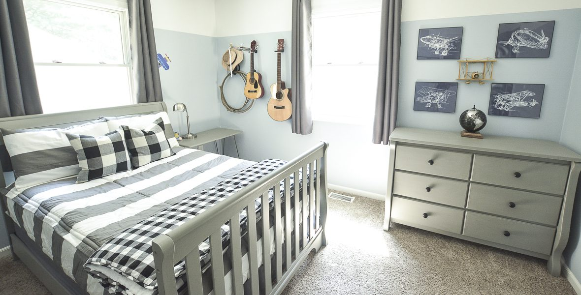 Big Boy Room Makeover