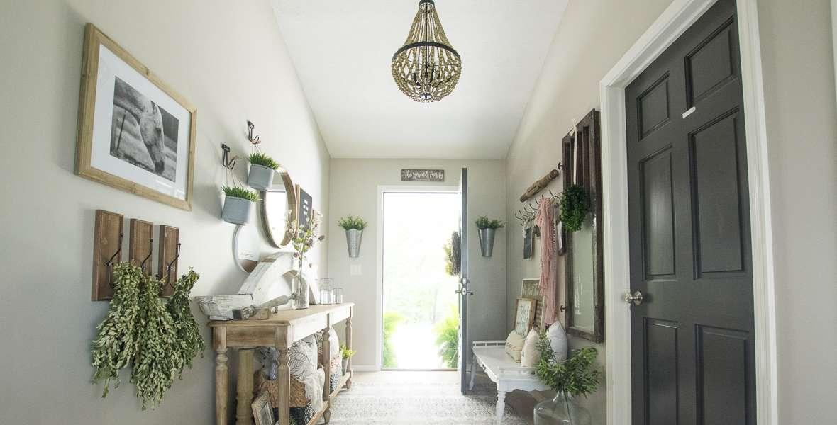 Modern farmhouse chandelier swap grace in my space