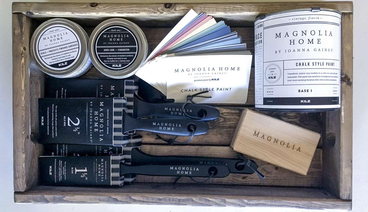 Are you wanting to test our your DIY skills with chalk paint? I've reviewed my experience with Magnolia Home's chalk paint line.