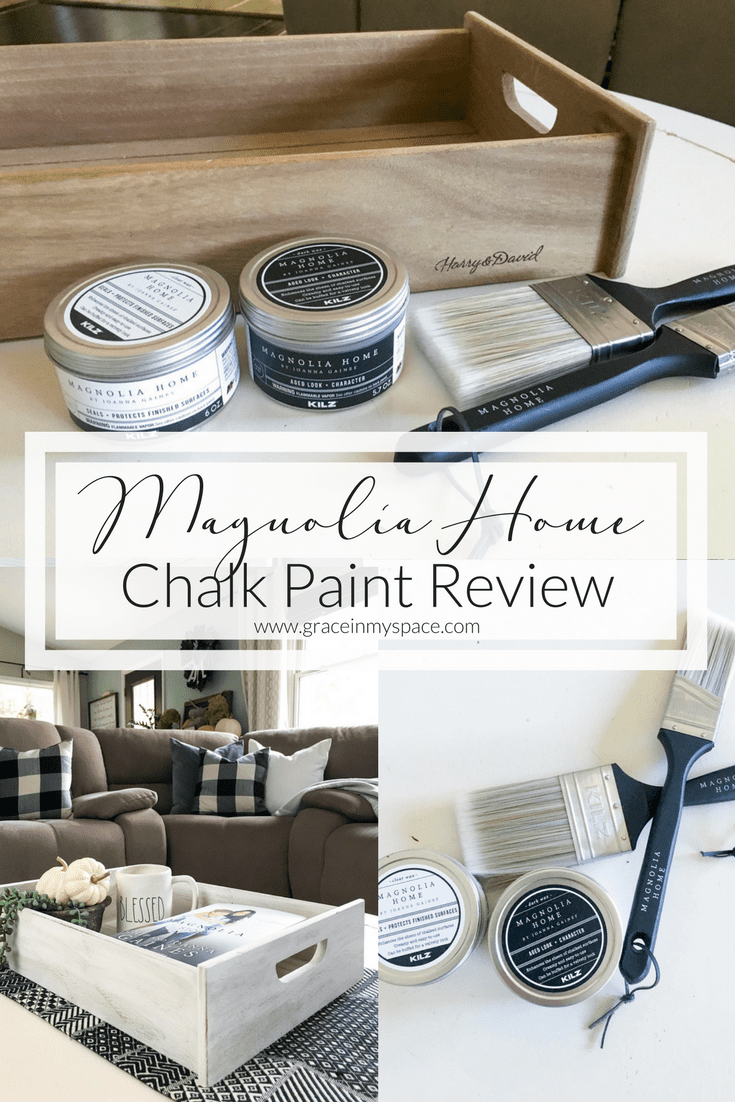 Have you ever wanted to try chalk paint but didn't know where to start? I'm taking you through a simple tutorial using Magnolia Home's chalk paint.
