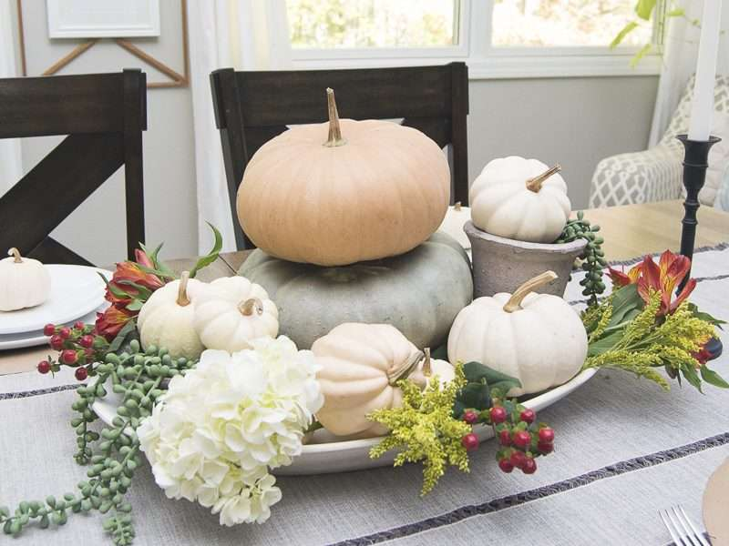 Thanksgiving Table-scape | 3 Simple Style Options