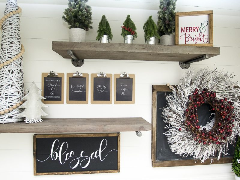 DIY Christmas Decor | Free Printables