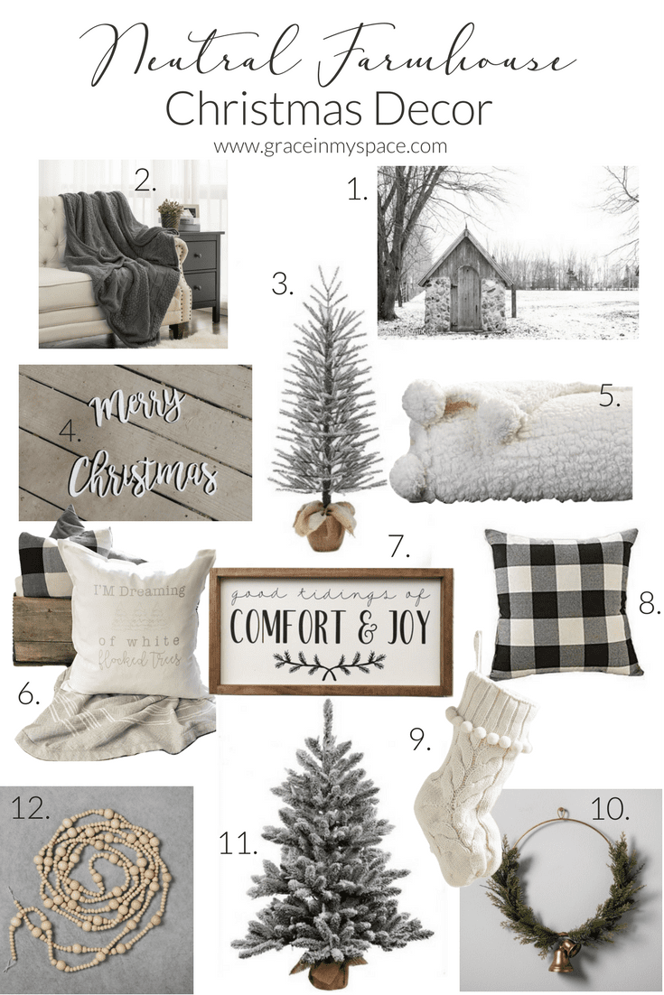 looking for neutral farmhouse christmas decor ive got lots of cozy and beautiful