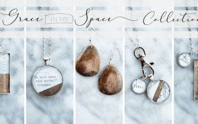 The Grace In My Space Jewelry Collection! Wood, Marble and Leather