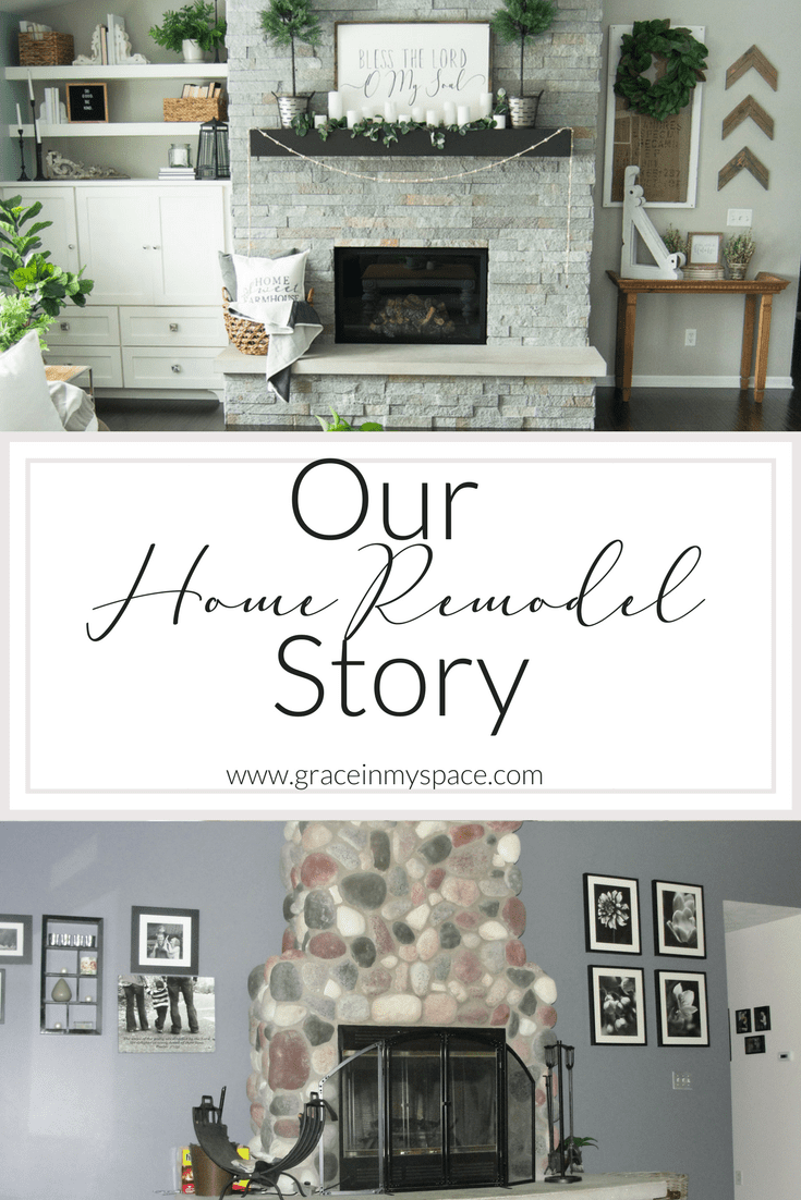 Our Home Remodel Story | Beauty from Ashes | Grace In My Space