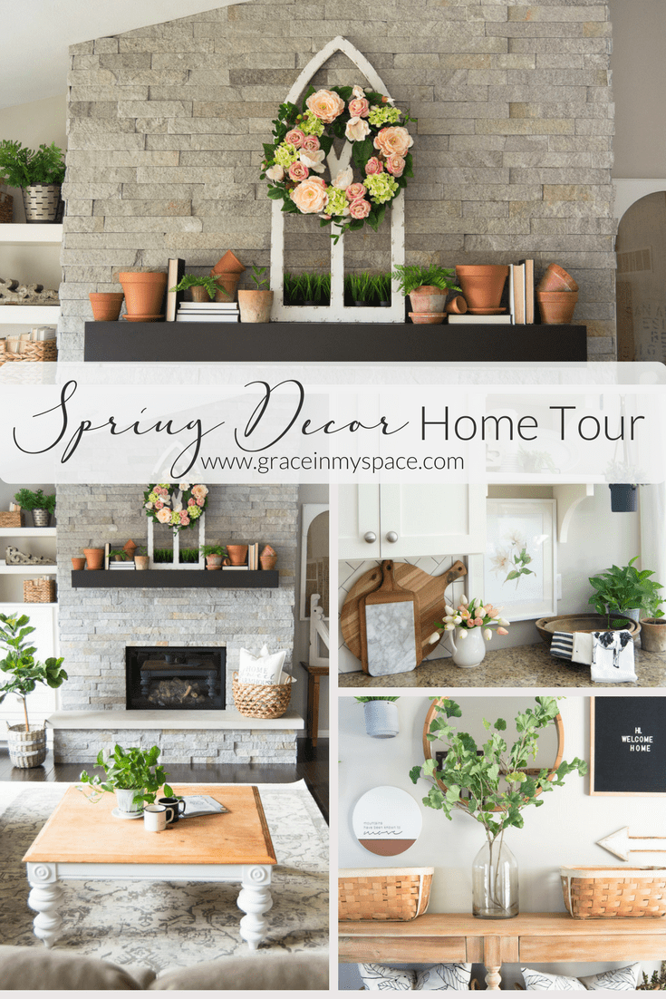 Spring Home Decor | Home Tour | Grace In My Space