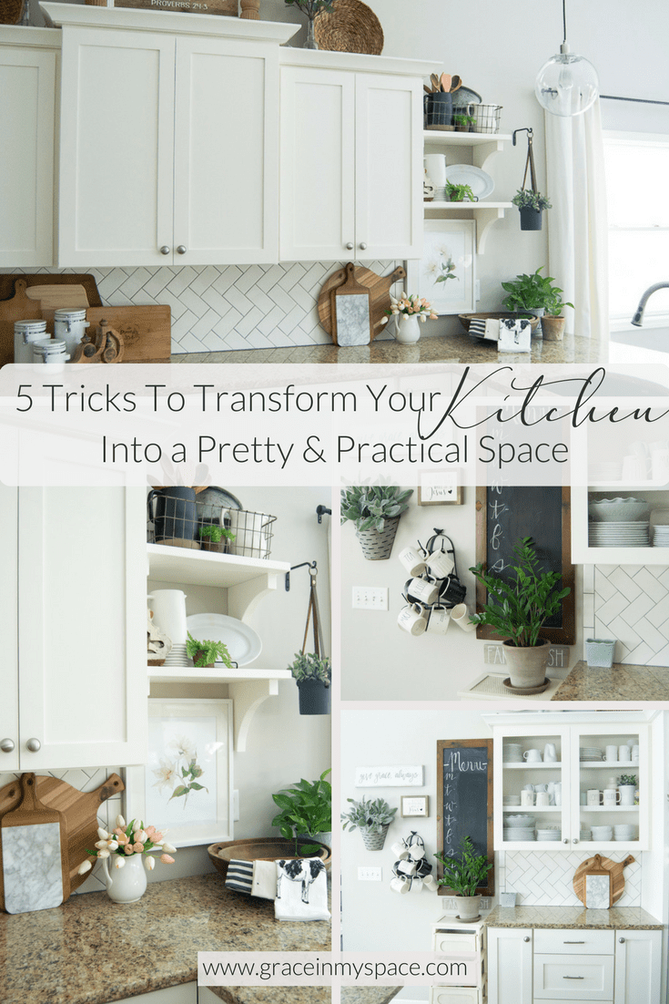 Spring Kitchen Decor 5 Tricks To Transform Your Into A Pretty And Practical E
