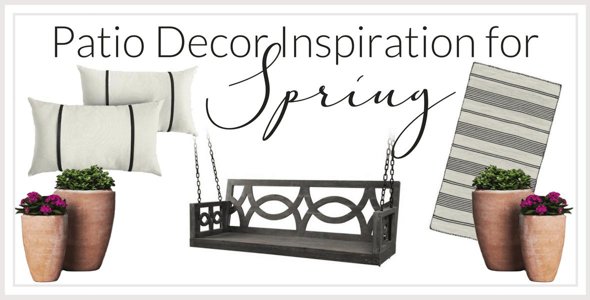 Spring Patio Decor Inspiration | Garden Party Dining