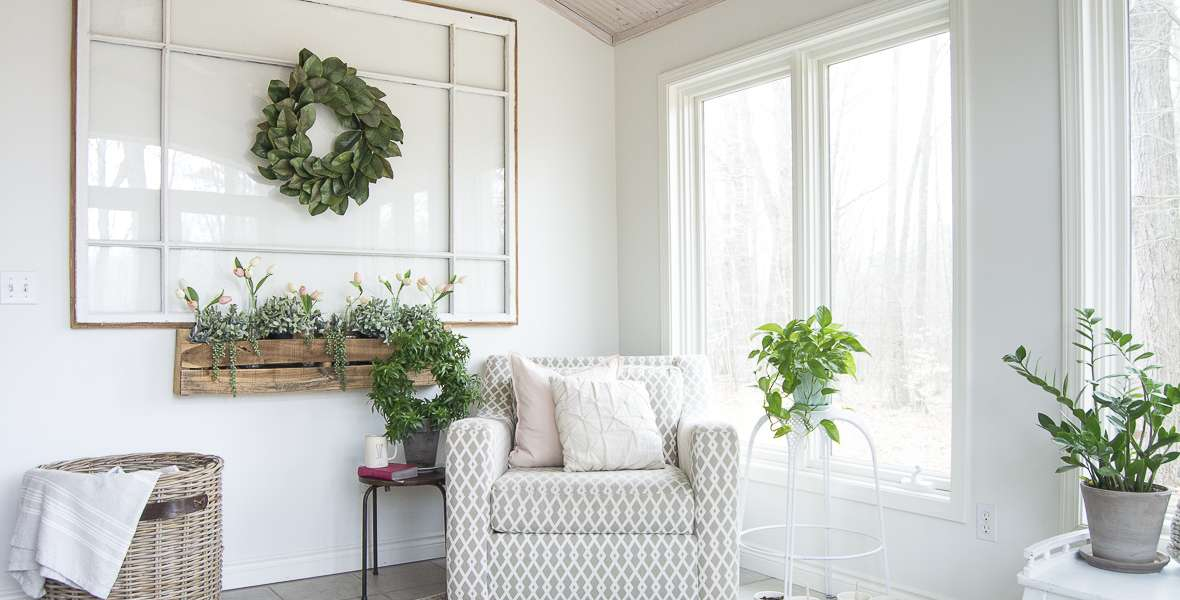 Are you looking for an easy way to bring the outdoors in without any fuss? Today I'm sharing my indoor faux window box idea for how to create an outdoor space right inside your home. No dirt. No watering. No sun needed.