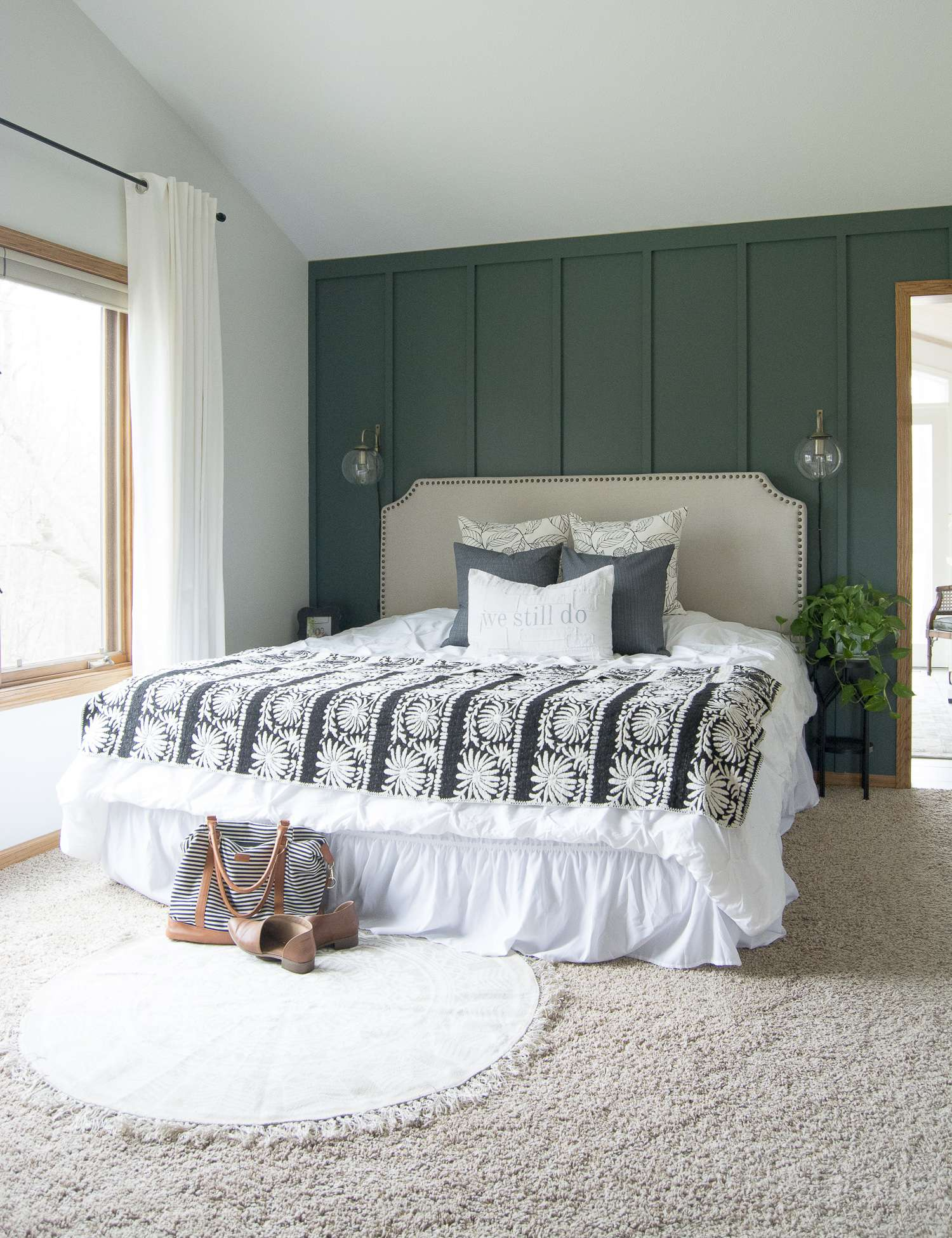 Modern Farmhouse Bedroom Decor Finishing Touches Grace In