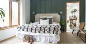 Modern Farmhouse Bedroom Decor: Finishing Touches