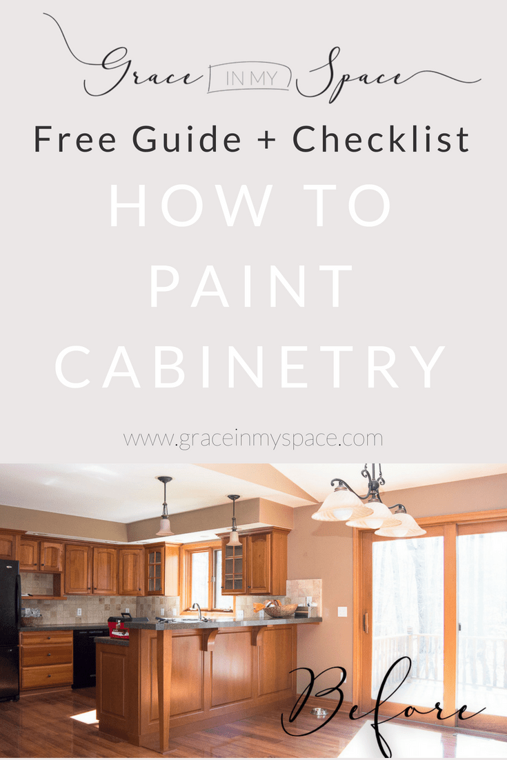 Are you ready for a brand new kitchen but don't want to shell out $30,000? I was too! I took 7 days, a lot of hard work, and about $300 and transformed my kitchen. Visit the blog to learn step by step how to paint your kitchen cabinets in 7 days to bring your kitchen into the 21st century.