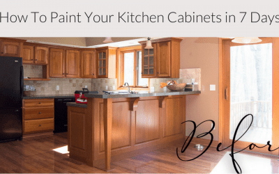 Paint Your Kitchen Cabinets in 7 Days | Paint Steps