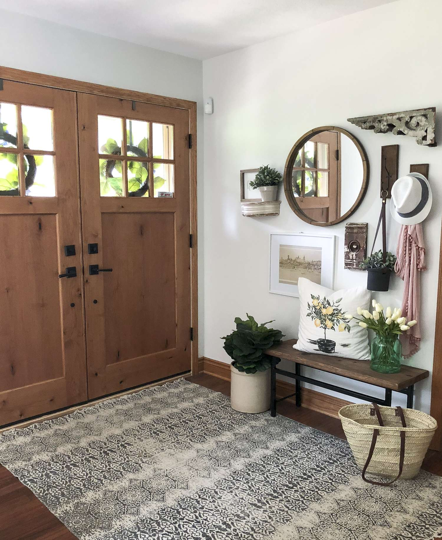 Home Design Ideas Youtube: How To Create A Welcoming Summer Entryway