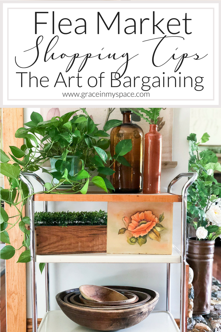 Love a good deal but scared to haggle? Learn the art of haggling along with 10 tips for how to bargain at flea markets. Click here to read more...