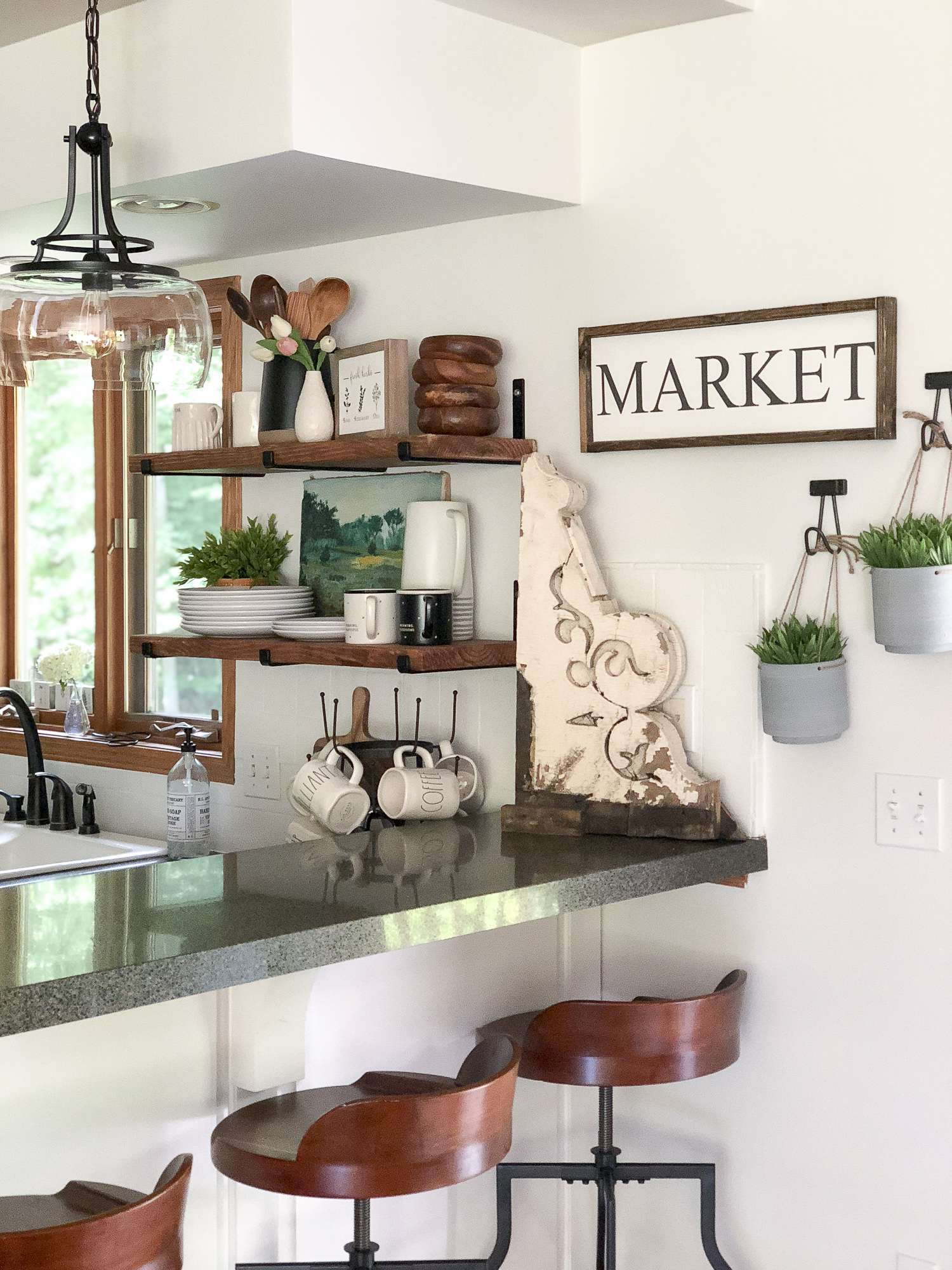 Read this simple step by step DIY open shelving tutorial to learn how to create your own open shelving, on a budget! Free guide included! Read more....