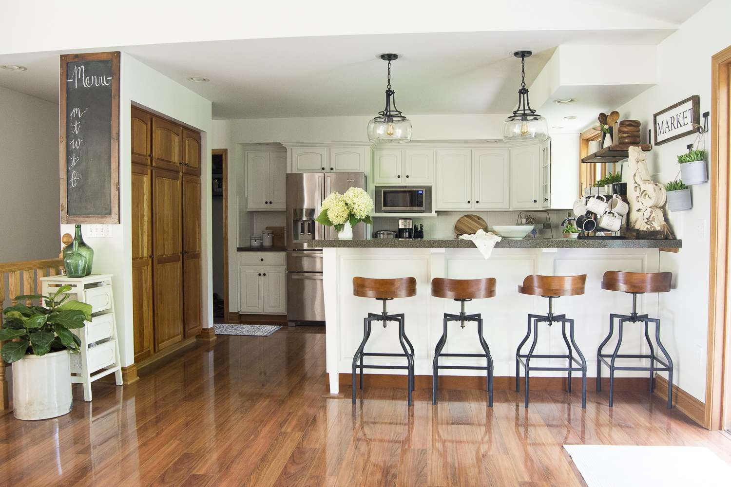 Kitchen remodel on a budget the final reveal of our budget friendly kitchen remodel along