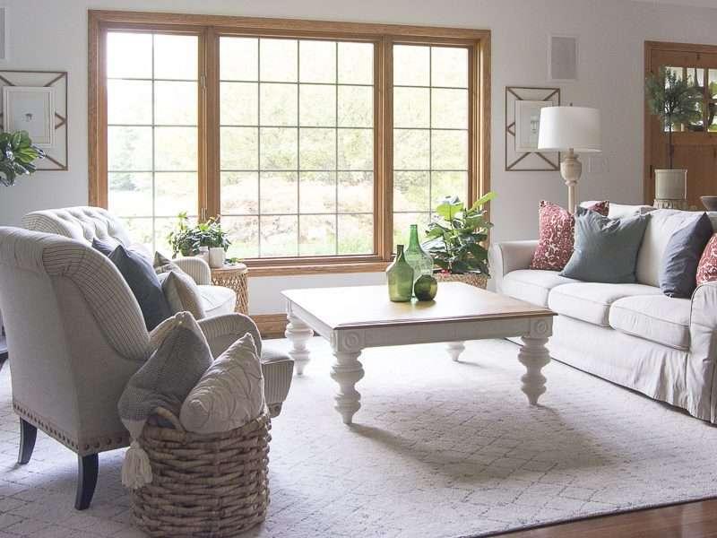 Vintage Farmhouse Decor | Living Room Update