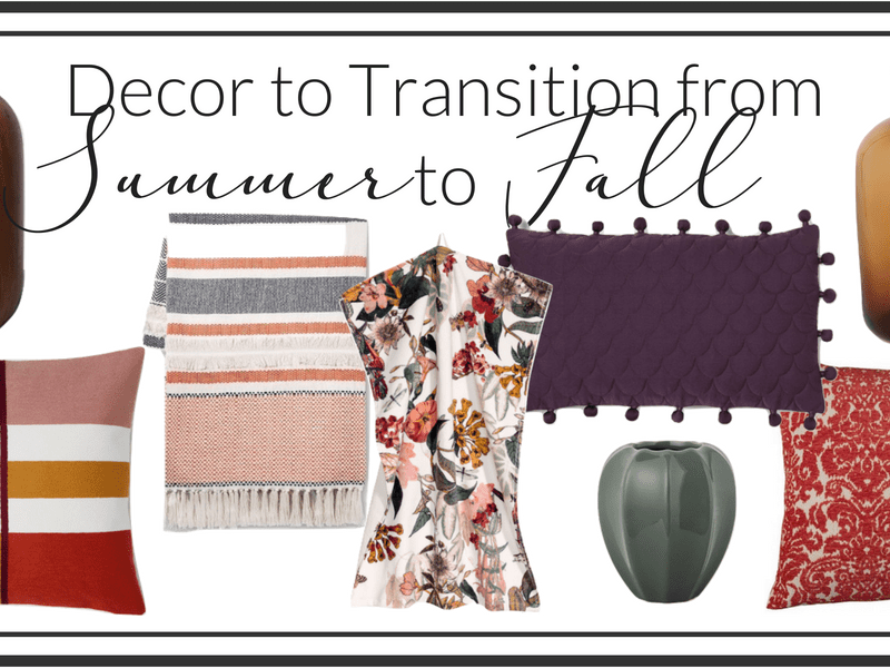 Transitioning Home Decor from Summer to Fall With Ease