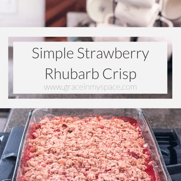 Are you wondering what to do with rhubarb? I have a simple and delicious strawberry rhubarb crisp recipe + 4 unique ideas for using rhubarb this season.