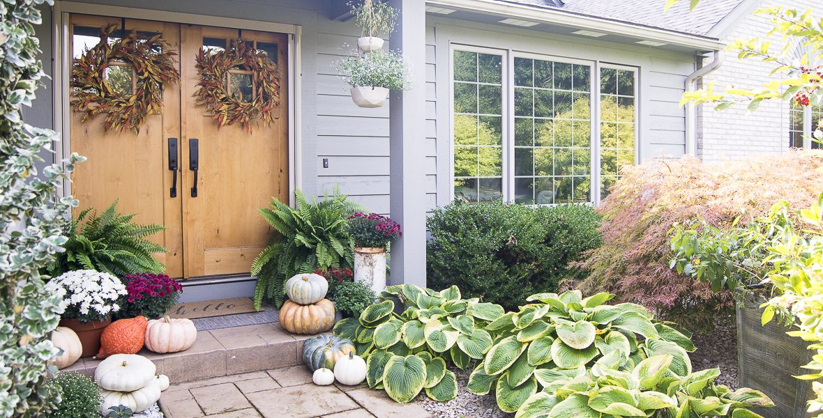 Natural Fall Porch Decor | 3 Steps to an Inviting Home