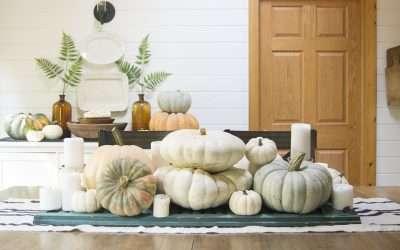 Fall Dining Room Decor   2 Ways
