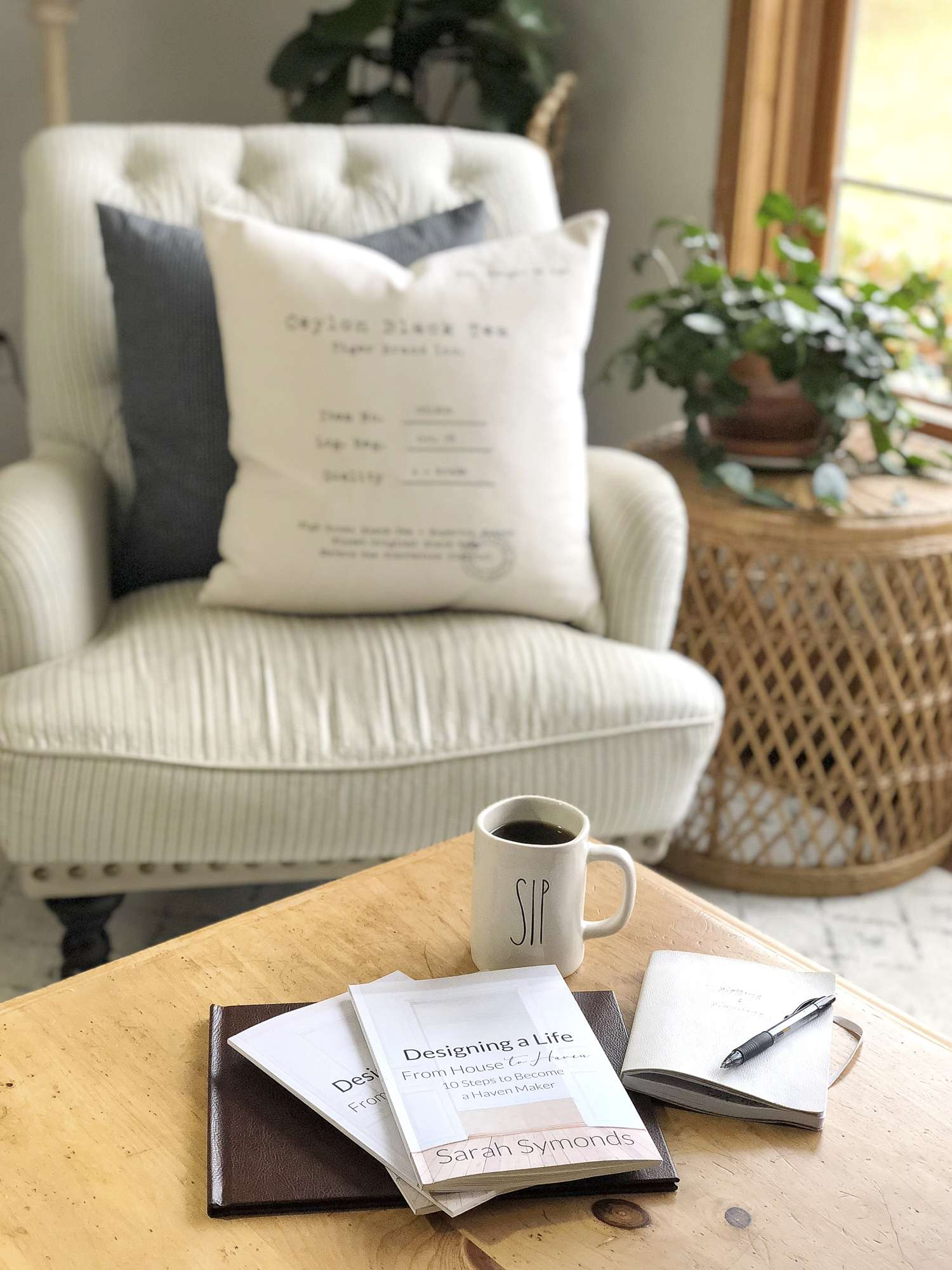 Are you ready to make your house into a haven? With my interior design book, Designing a Life: From House to Haven, learn 10 steps to become a haven maker.