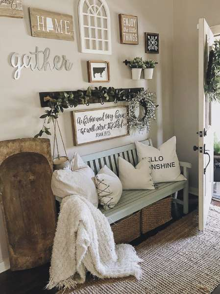 Farmhouse Style Decor | Home Inspiration | Grace In My Space