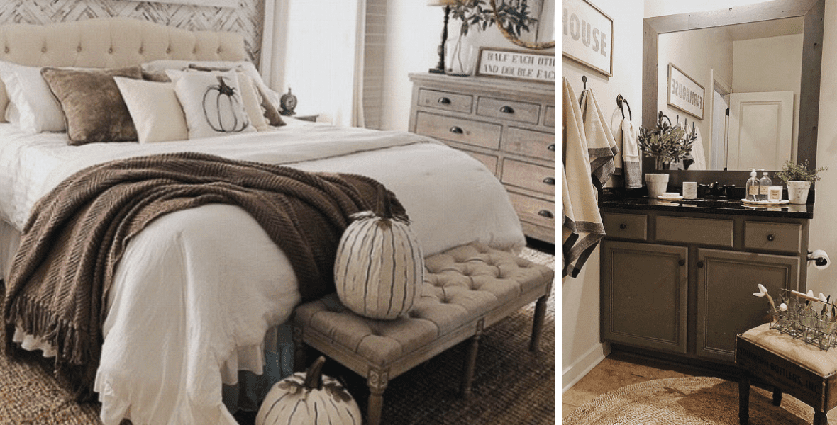 Do you love farmhouse style decor? It is one of my favorite styles for home design and I have some amazing home inspiration to share today! #farmhousestyledecor #farmhousestyle