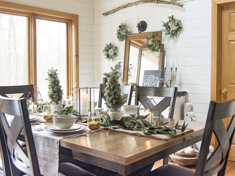 How to Use Everyday Dishes for Your Holiday Table Decor