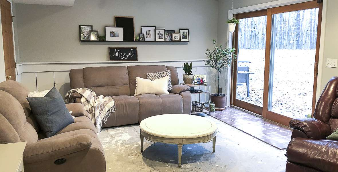 How to Modernize a Space with Painted Trim
