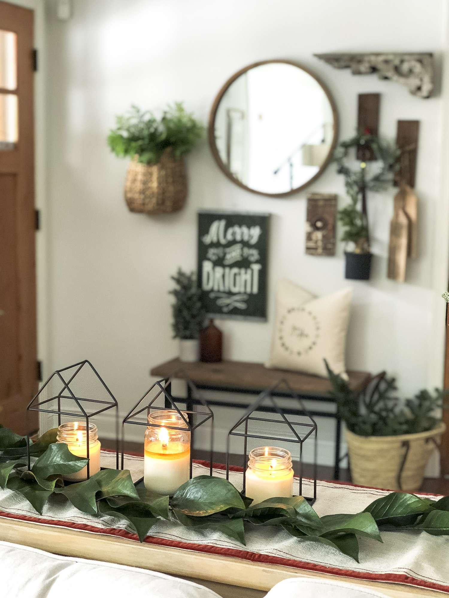 do you have a small entryway today im sharing easy tricks and tips
