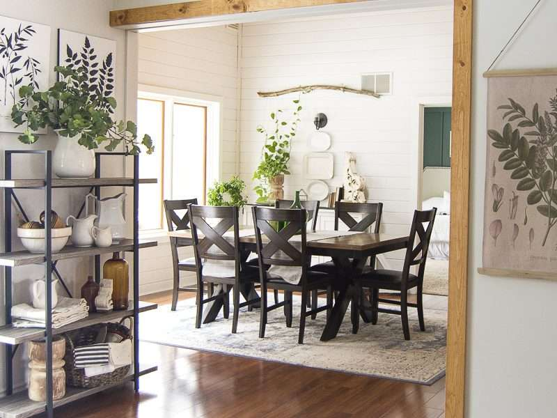 Winter to Spring Dining Room Decor Ideas