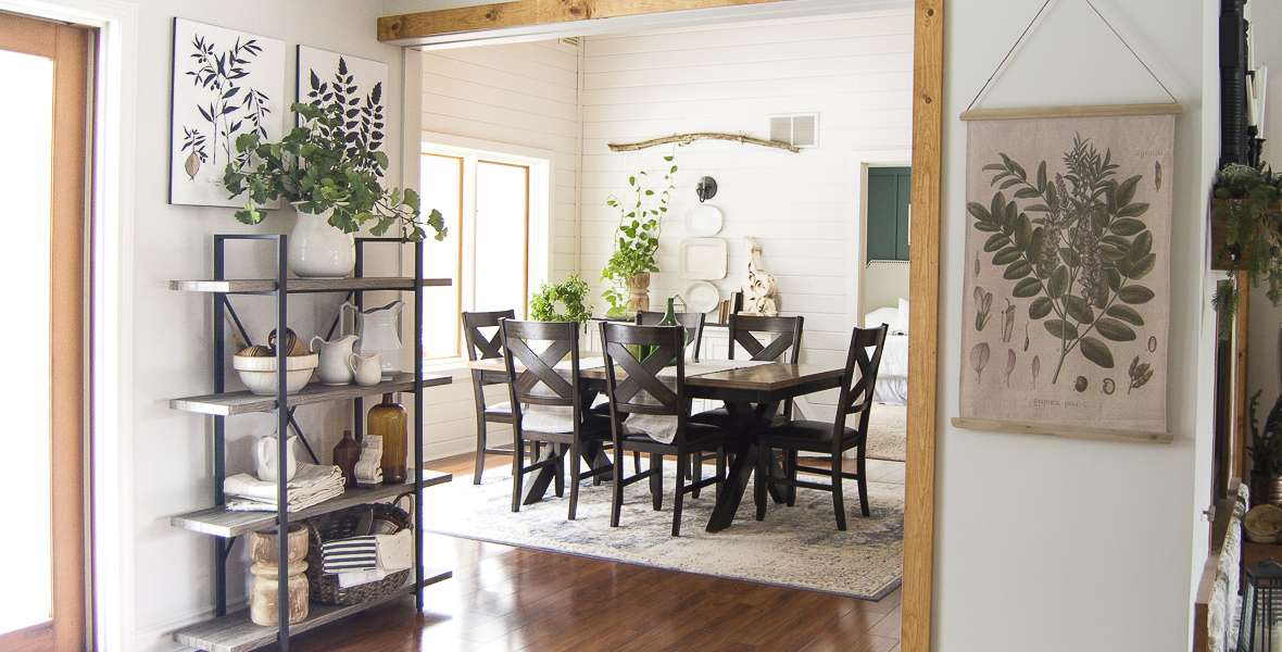 Winter to Spring Dining Room Decor Ideas | Grace In My Space