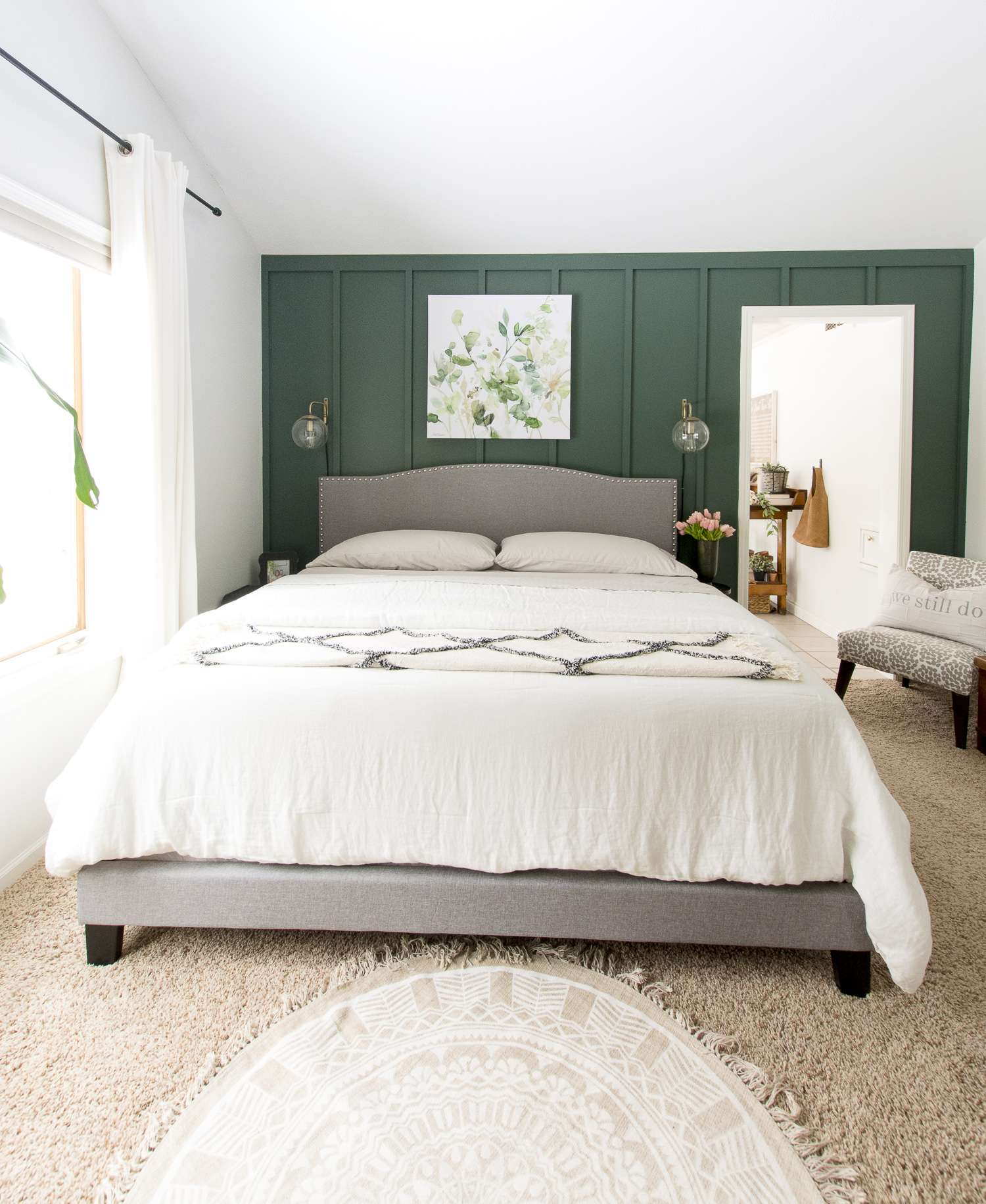 Are you looking for cozy bedroom ideas for spring? I'm sharing how to make your bedroom cozy even as we head into the spring season. #fromhousetohaven #springbedroomideas #cozybedroomideas