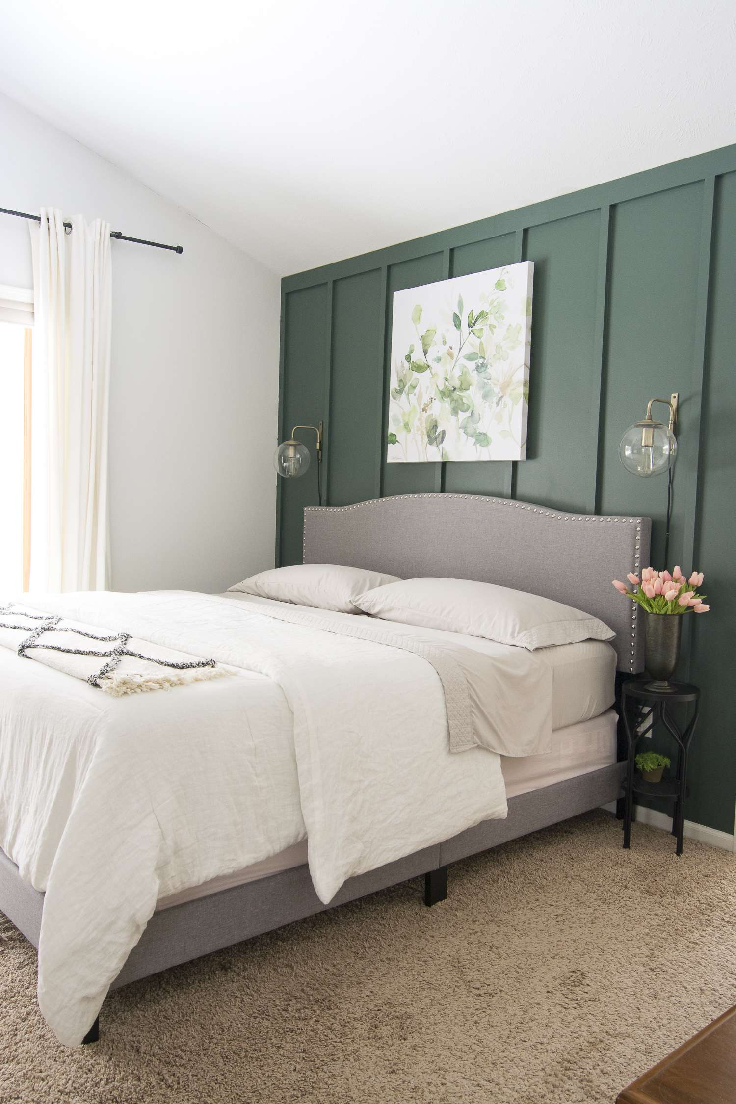 Are you looking for some cozy bedroom ideas for spring? Today I'm sharing how to make your bedroom cozy even as we head into the spring season. #fromhousetohaven #springbedroomideas #cozybedroomideas
