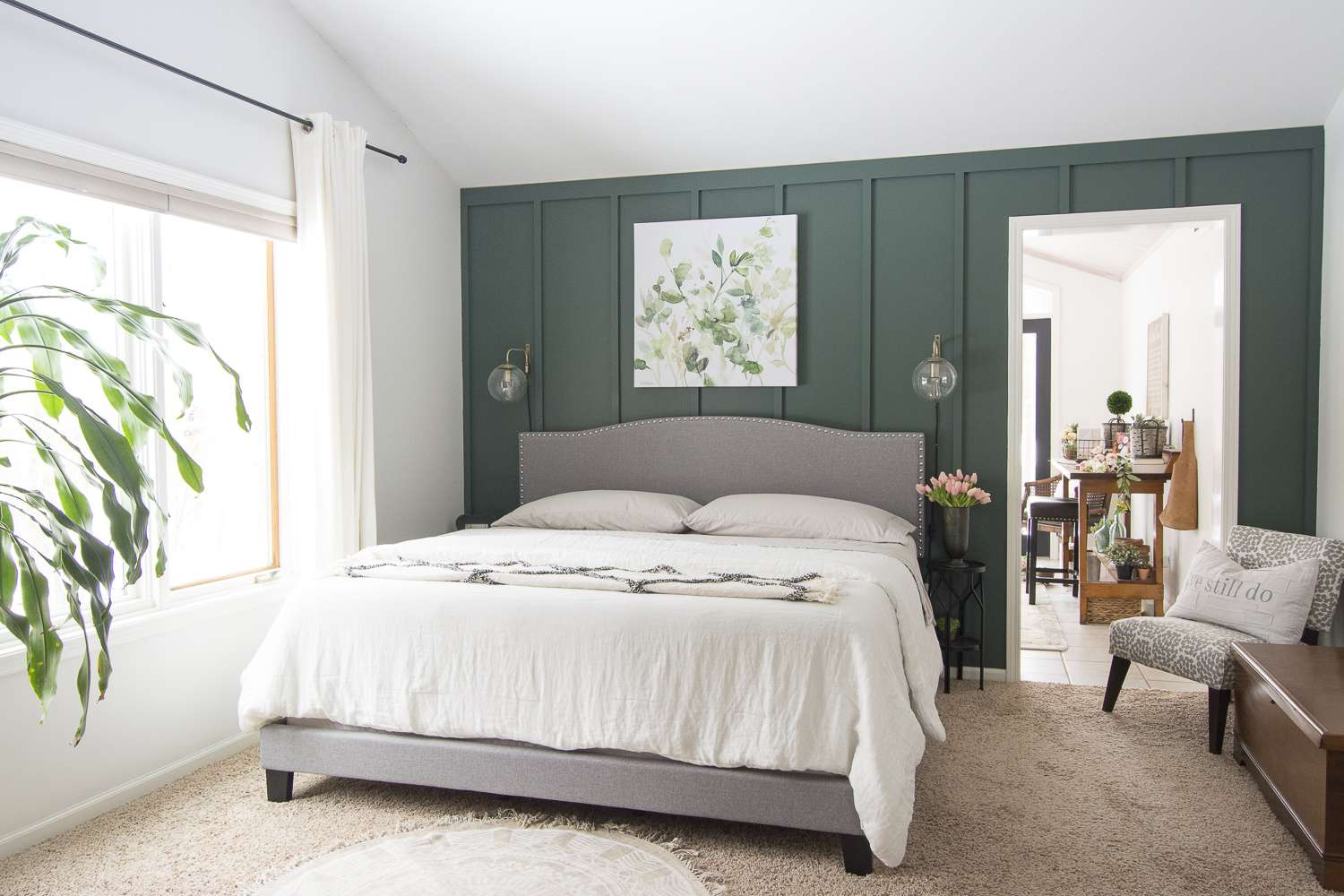 Are you looking for cozy bedroom ideas for spring? Today I'm sharing tips on how to make your bedroom cozy even as we head into the spring season. #fromhousetohaven #springbedroomideas #cozybedroomideas