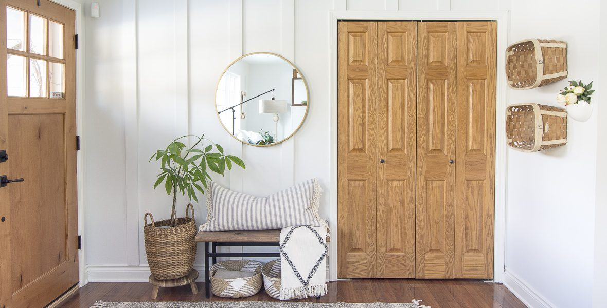 Do you need help creating a haven? Today I finish my 3 part series on how to create spaces you love by giving you decorating tips for design implementation. #fromhousetohaven #decoratingtips #homedecorating #modernfarmhouse