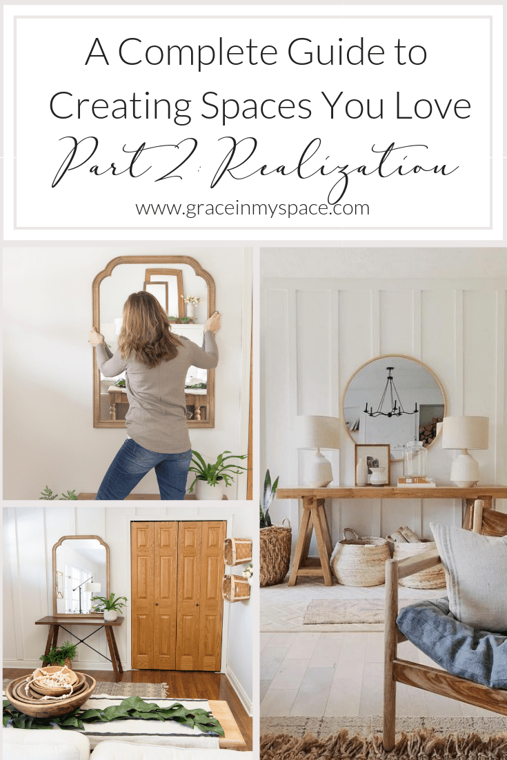 Do you struggle to take a space from dream to reality? Join me for a complete guide to home interiors! Part 2: Realization #fromhousetohaven #interiordesigninspiration #homedecor #interiordesign