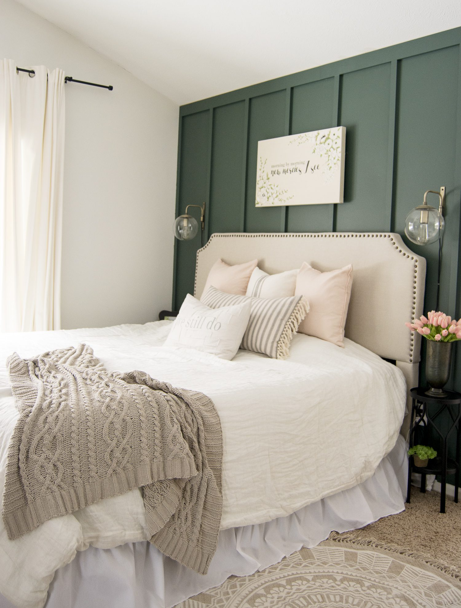Key Elements of a Modern Farmhouse Bedroom | Grace In My Space