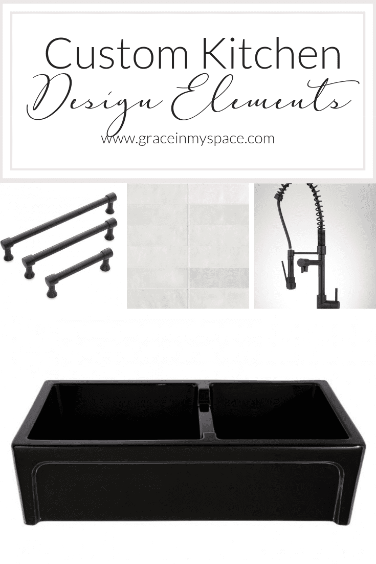 Are you designing a custom kitchen? Today Iu0027m sharing my custom kitchen design  sc 1 st  Grace In My Space & Custom Kitchen Design Plan | Grace In My Space