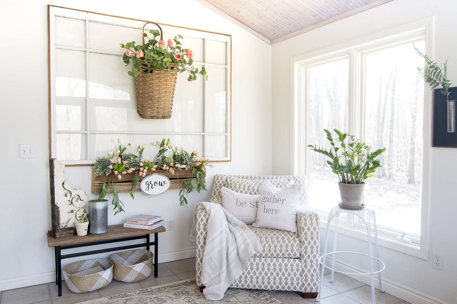 Do you adhere to the concept of reduce, reuse, recycle? Today I'm sharing several upcycling ideas for affordable home furnishings! #fromhousetohaven #upcyclingideas #repurposeddecor