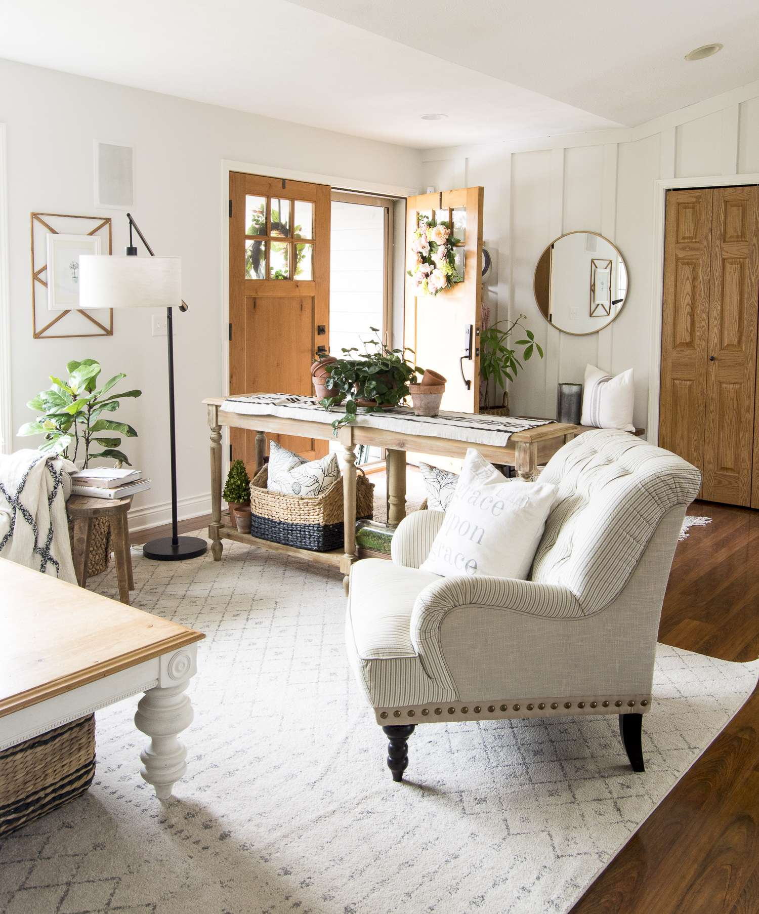 Spring Vintage Farmhouse Decor With A Boho Twist Grace In My Space
