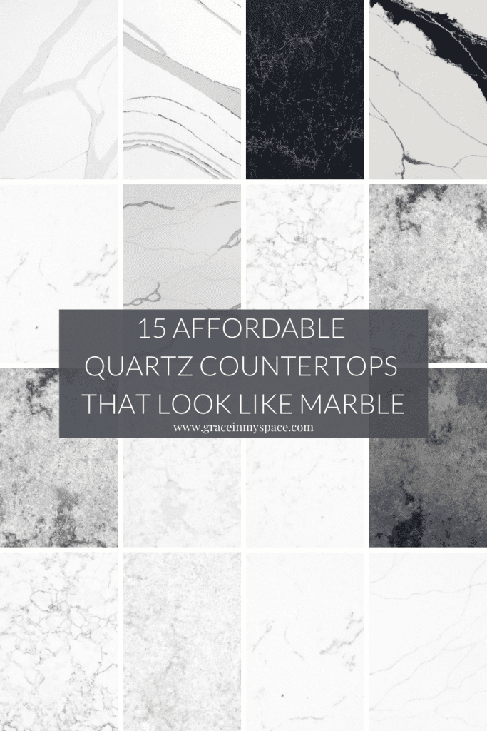 15 Affordable Quartz Countertops that Look Like Marble