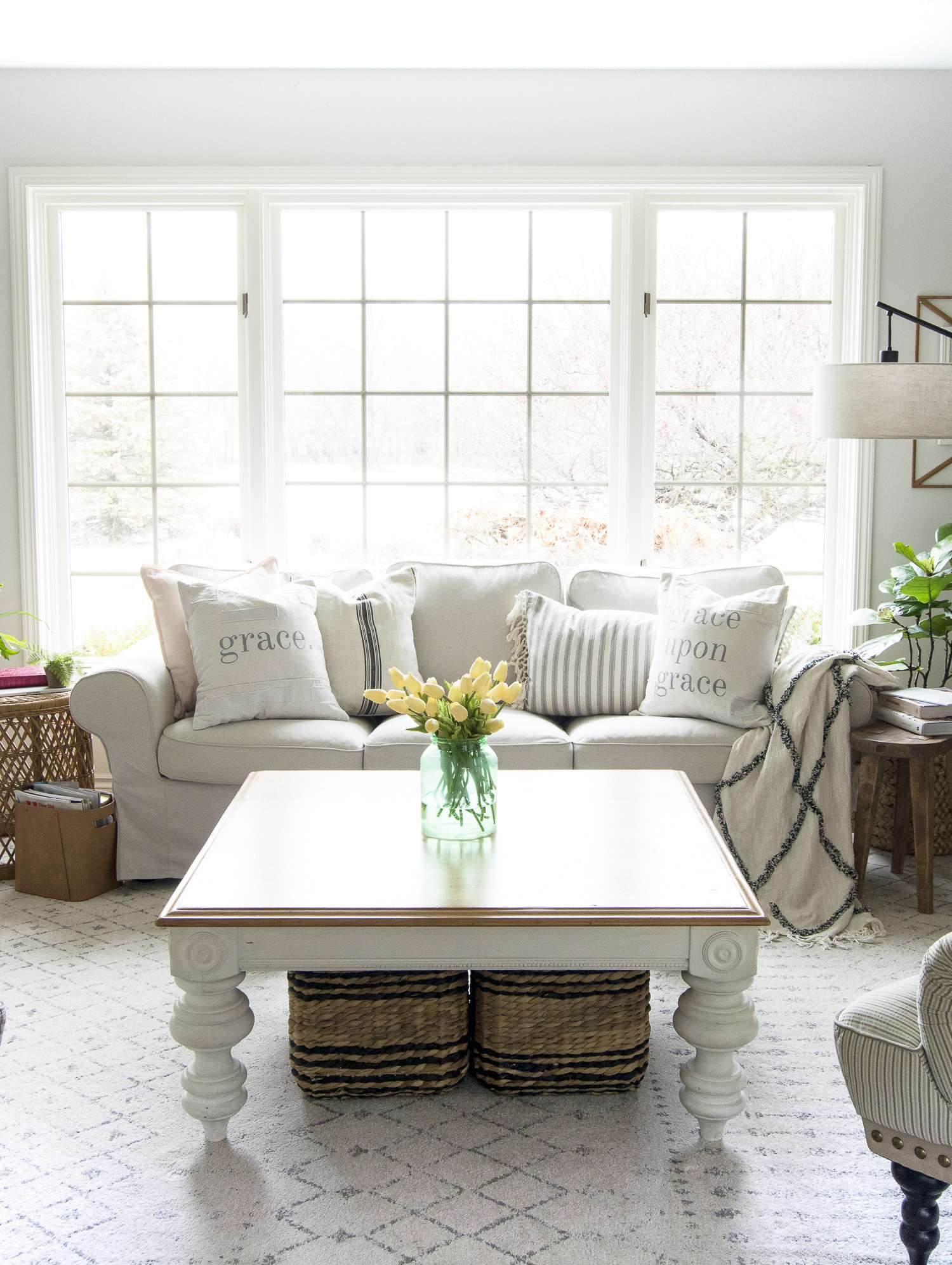 Modern Farmhouse Interior Design Style Guide Grace In My Space