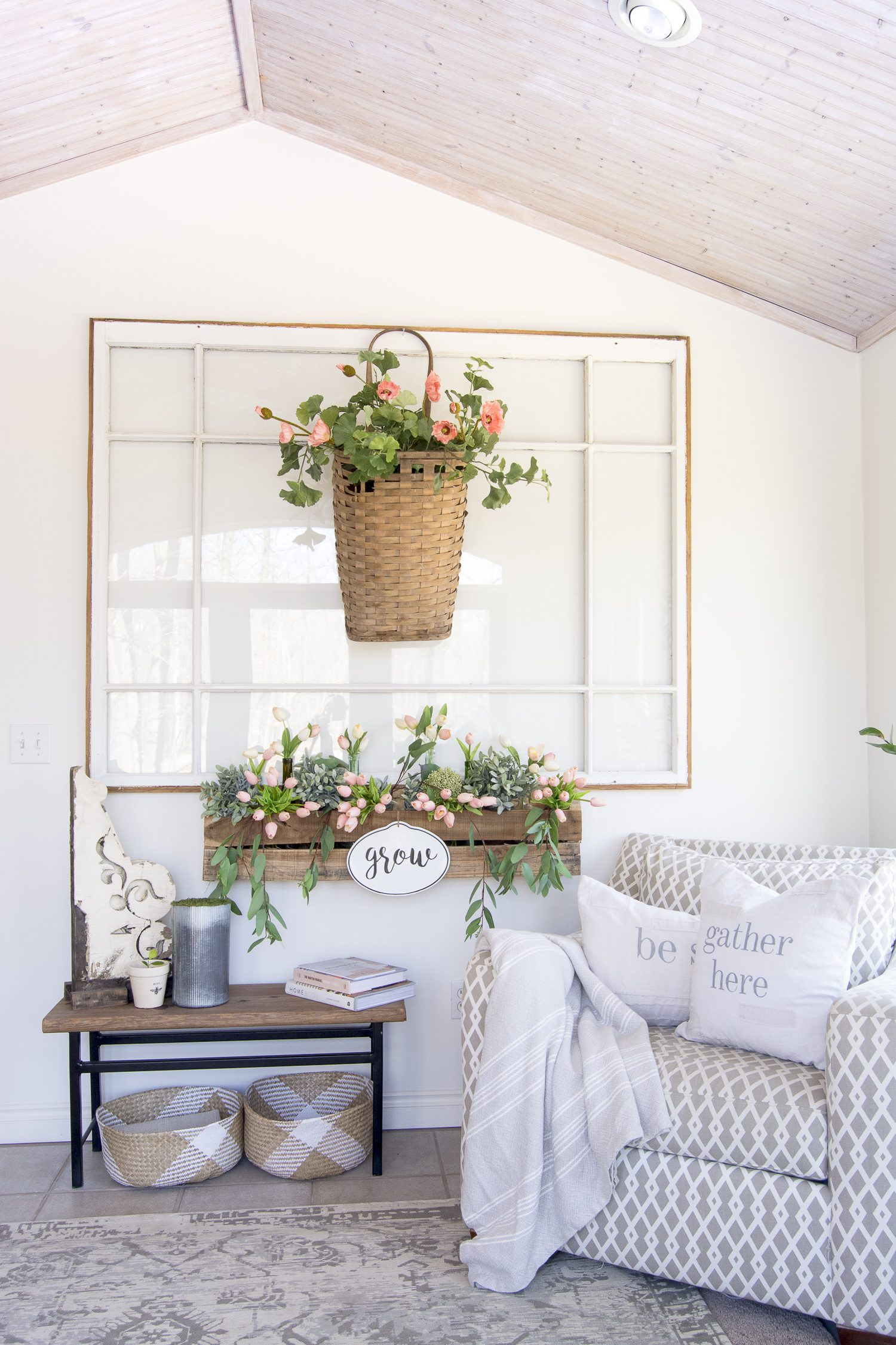 Looking for a vintage home decor ideas? Here is my full home style guide with my best modern farmhouse decor sources. #fromhousetohaven #farmhouseinteriordesign #modernfarmhousestyle